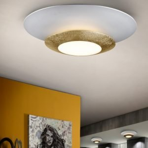 PLAFÓN LED HOLE ORO Ø42